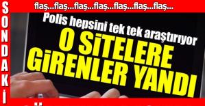 O SİTELERE GİRENLER YANDI!!!