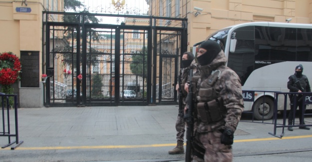 Rus Başkonsolosluğunda özel harekatlı önlem