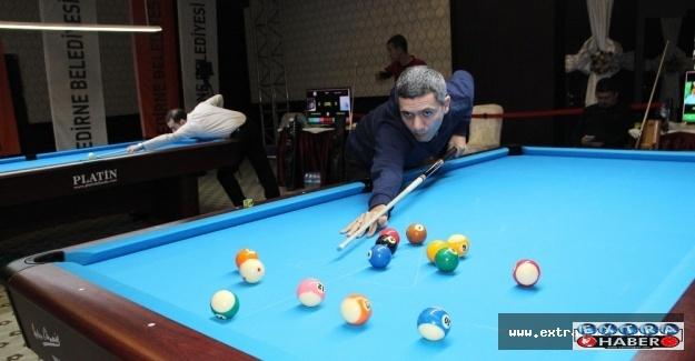 Türkiye Bilardo Şampiyonası final müsabakaları başladı