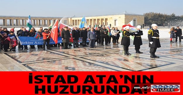 İSTAD YÖNETİMİ ATA'NIN HUZURUNDA!