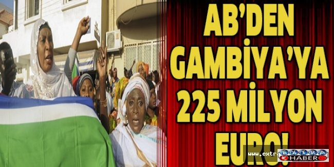 AB'den Gambiya'ya 225 milyon euro!