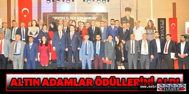 ALTIN ADAMLAR ÖDÜLLERİNİ ALDI