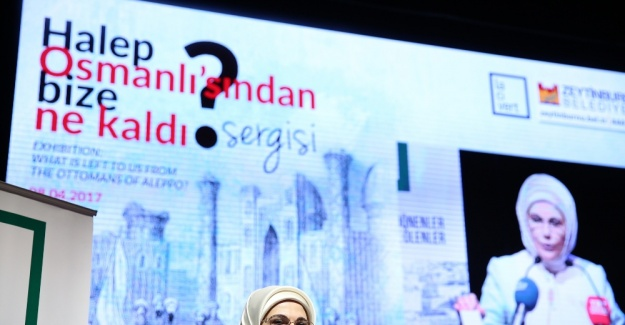 Emine Erdoğan Halep'le ilgili konuştu: Sözün bittiği yerdeyiz