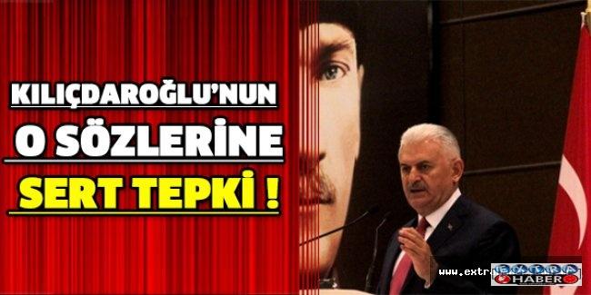 Kılıçdaroğlu'nun o sözlerine sert tepki !