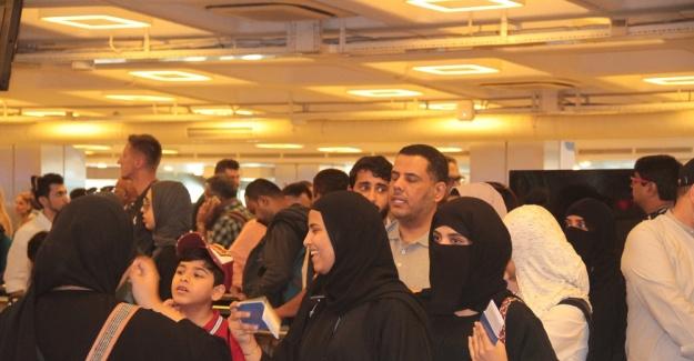 Arap turistler bayramda İstanbul'a akın etti