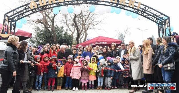 Adalet Parkı hizmete açıldı
