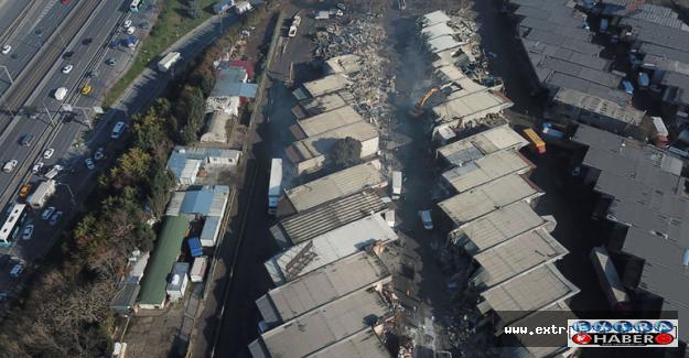 Zeytinburnun'da yıkım gerginliği