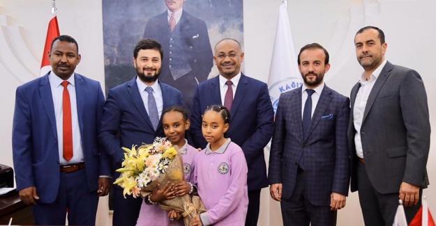 Sudan'ın İstanbul Başkonsolosu Başkan Öztekin'i ziyaret etti