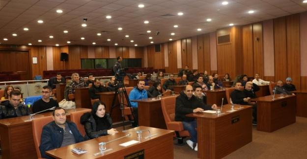 Kartal Belediyesi Güvenlik Personeline Stres Eğitimi