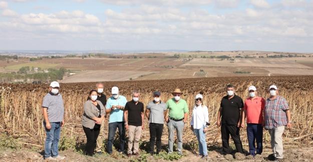 Akgün: Ürünü bol, hasadı bereketli bir yıl geçiriyoruz