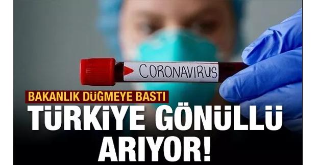 Aşı denemeleri Türkiye'de başlıyor