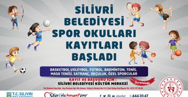Silivri'de ücretsiz yaz spor okulu