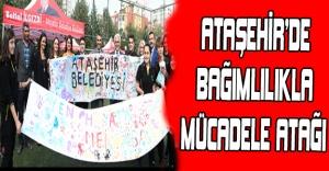 Ataşehir'de bağımlılıkla...