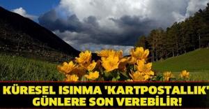 KÜRESEL ISINMA 'KARTPOSTALLIK' GÜNLERE SON VEREBİLİR!