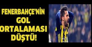 Fenerbahçe'nin gol ortalaması düştü!