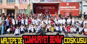 """Maltepe'de """"Cumhuriyet Benim"""" coşkusu"""