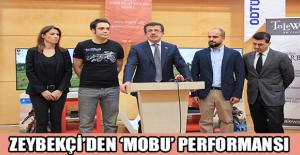 Zeybekçi'den 'MoBu' performansı