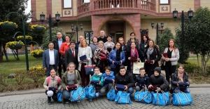 Başkan Alatepe bosnalı öğrencileri ağırladı