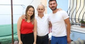 Başkan Akgün, Özkol ailesinin davetini unutmadı