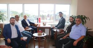İSTGAD yönetiminden Başkan Gökhan Yüksel'e ziyaret