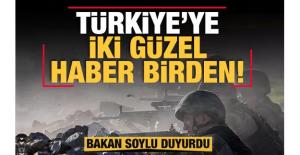 Bakan Soylu paylaştı! Türkiye'ye iki güzel haber