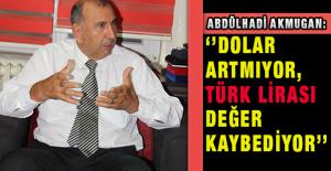 ''Dolar artmıyor, Türk lirası değer kaybediyor''
