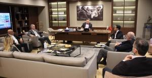 İyi Parti İstanbul  Kurmayları'ndan İTHİB 'ye ziyaret