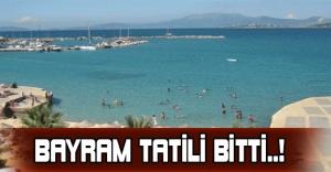 Bayram Tatili Bitti