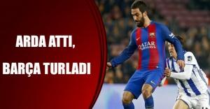 Arda attı, Barça turladı