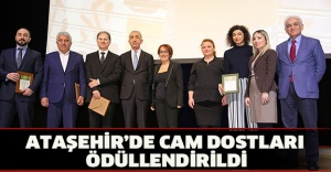 ATAŞEHİR'DE CAM DOSTLARI ÖDÜLLENDİRİLDİ
