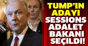 Tump'ın adayı Sessions Adalet Bakanı seçildi!