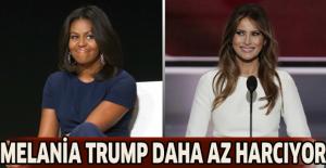 Melania Trump daha az harcıyor