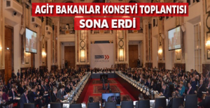 AGİT Bakanlar Konseyi Toplantısı sona erdi