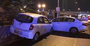 Kadıköy'de yarış yapan karı koca zincirleme kazaya neden oldu:7 yaralı