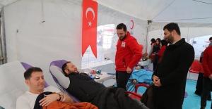 Bağışlanan Kanlar Bin 500 Kişiye Ulaştı