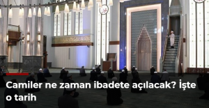 Camiler ne zaman ibadete açılacak? İşte o tarih