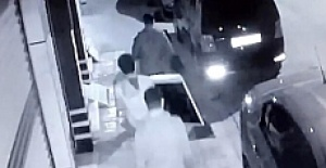 4 dakikada hırsızlık