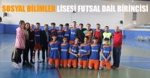 Sosyal Bilimler Lisesi Futsal Dail Birincisi