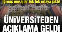 Sağlık Bilimleri Üniversitesi'nden taciz açıklaması!