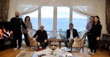 İBB Başkanı Ekrem İmamoğlu'ndan Başkan Akgün'e ziyaret