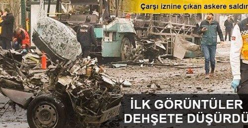 Kayseri'de Canlı Bomba Patlama Sonrası Korkunç Görüntüler! ( Vatandaş Kamerası ) +18