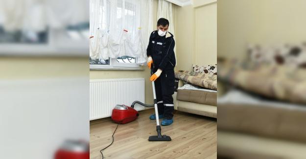 'Evde temizlik' hizmeti vatandaşların hayatını kolaylaştırıyor